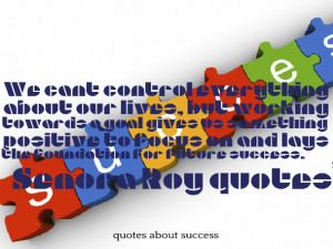 Quotes and Sayings About Success