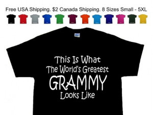 World's Greatest GRAMMY Mothers Day Birthday by ScootersBasement, $9 ...