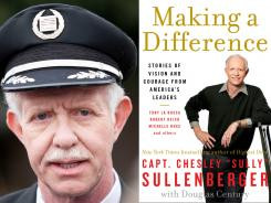Sullenberger pilots 'Stories' about good leadership