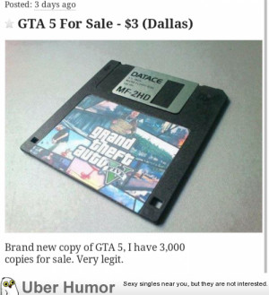 Found this great deal on GTA V for PC! | Funny Pictures, Quotes, Pics ...