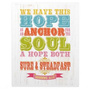 Bible Scripture Love Script on Orange Vintage Display Plaques