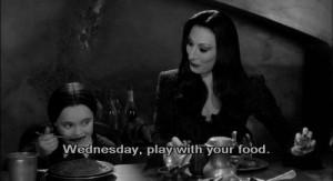 ... Wednesday Addams movie quotes wednesday Addams Family horror movie
