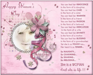 Cherish our Mother Nature and all the Women in your life :)