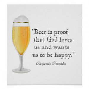 Famous Beer Quotes Gifts