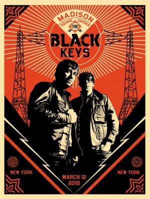 The Black Keys :: Obey :: Shepard Fairey
