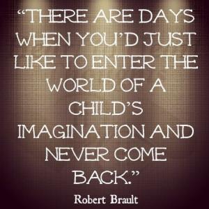Child's imagination