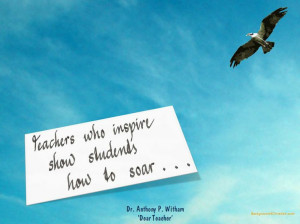Teachers who inspire...