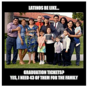 Latinos be like...
