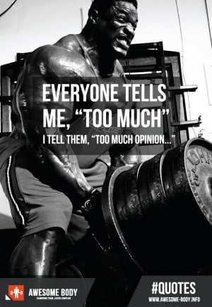 bar lift weights Quote | Bodybuilding Motivation | Too Much Opinion