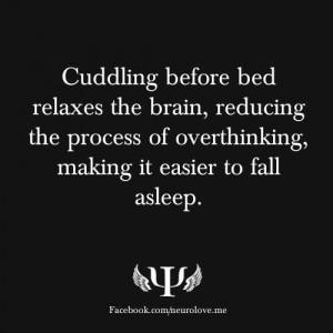 Cuddling Brings Peace