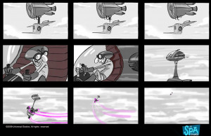 Despicable Me (2010) - Storyboards