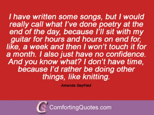 18 Sayings By Amanda Seyfried