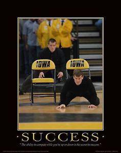 ... Hawkeye-Wrestling-Motivational-Poster-Art-Shoes-Tom-Terry-Brands-MVP65