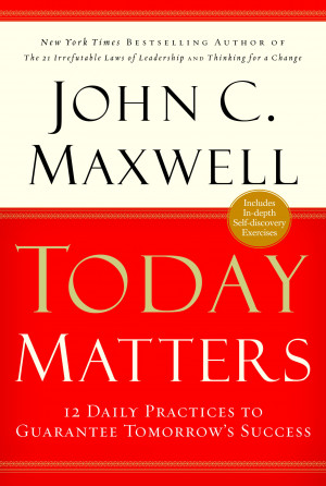 Win an Autographed John Maxwell Book