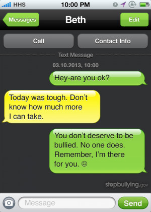 ... what you can do to be more than a bystander when you see bullying
