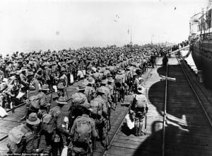 ... french and other allies at gallipoli in turkey during world war one