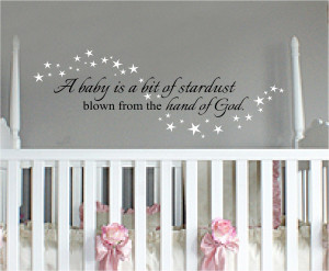 Baby Wall Quotes   Quotes for Nursery Wall