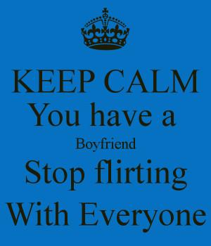 Keep Calm Boyfriend