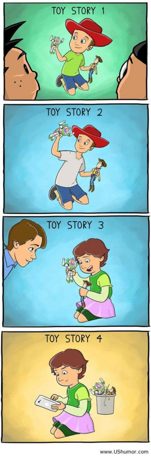 Funny evolution of Toy Story US Humor - Funny pictures, Quotes, Pics ...