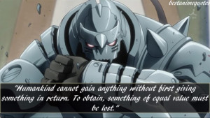 Alphonse Elric quote