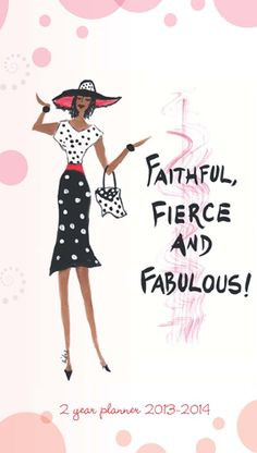 Faithful, Fierce and Fabulous 2 year planner - now just $2.50 @ www ...