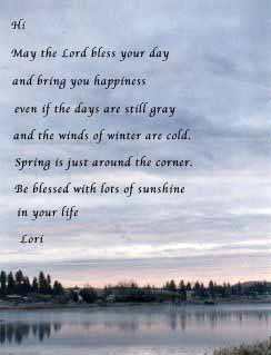Winter Blessing E-card