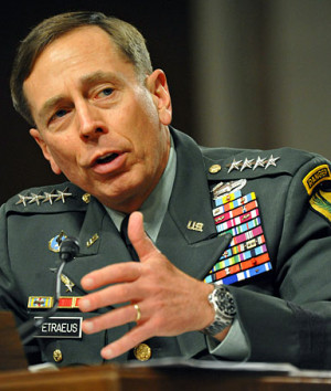 US Army Gen. David Petraeus, Commander, US Central Command, testifies ...