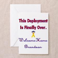 Welcome home grandson Greeting Cards (Pk of 10 for