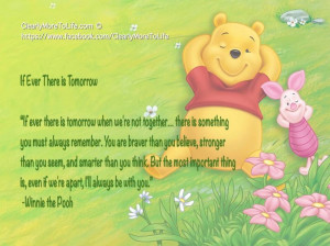 Pooh Bear Quotes About Life
