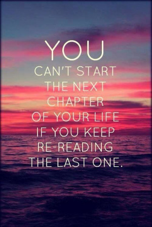 Motivational - moving forward quote