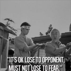 Mr Miyagi Quotes