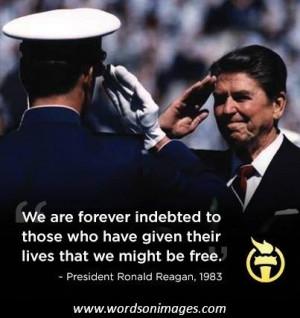 Ronald Reagan Freedom Quote