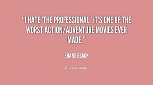 hate 39 The Professional 39 It 39 s one of the worst action adventure