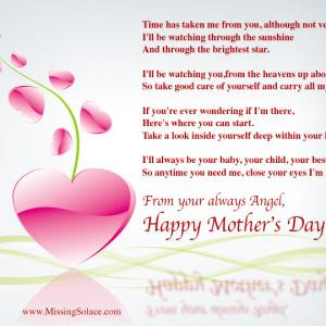 Mother's Day from your Angel