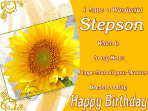 Birthday Wishes for Step Son - Birthday Cards, Greetings