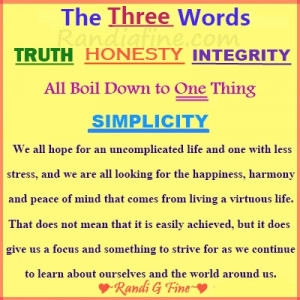 integrity honesty and truth quote excerpted from my 6 29 11 radio show ...