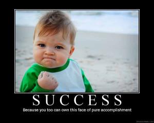 Success: The Face of Pure Accomplishment