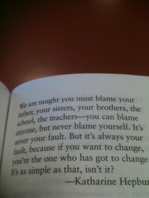 Katharine Hepburn #quote