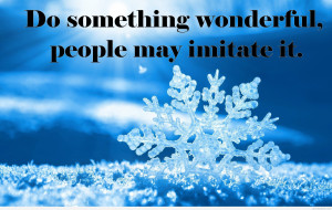 Download Motivational quote frozen image