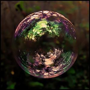 Colored Bubble