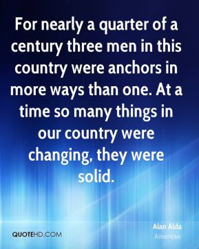 For nearly a quarter of a century three men in this country were ...