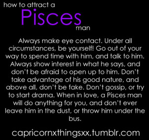 Perfect Matches For Pisces Man