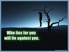 Quotes About Liars for Facebook | When truth is divided, errors ...