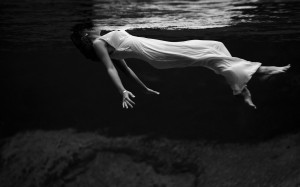 Girl, underwater, woman, dress, swim wallpapers