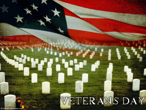 Background of Veterans Day