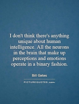 Intelligence Quotes Bill Gates Quotes