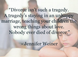 Divorce Aphorism Of The Day