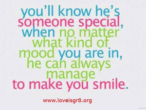 He Is Someone Special
