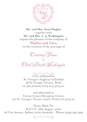 You are totally invited to the wedding of