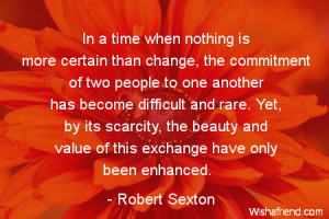 Quotes About Change in Marriage